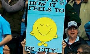 Manchester City fans happy