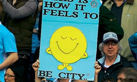 Manchester City fans happy