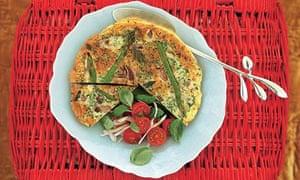 Picnics: asparagus frittata