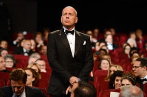 Moonrise premier: Bruce Willis at the Cannes Opening Ceremony