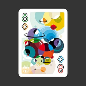 playing cards: 8 of Diamonds by Matt W.Moore
