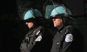 Chicago protest police Nato summit