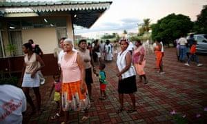 Chagos islanders in Mauritius