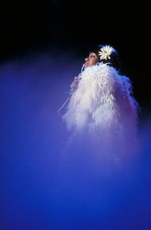 Donna Summer: Donna Summer on stage in 1970