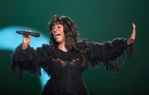 Donna Summer: Summer performs at the conclusion of the Nobel Peace concert in Oslo