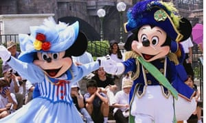 Mickey and Minnie Mouse Tokyo Disney