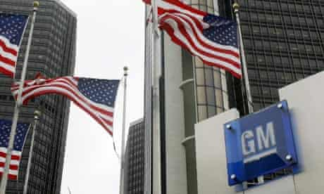 General Motors World Headquarters in Detroit