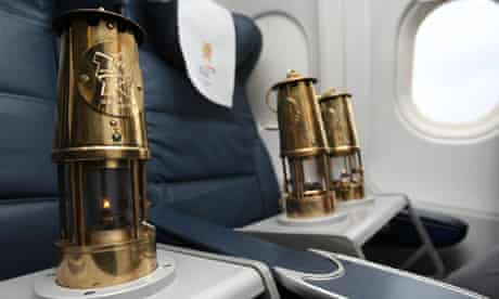 The Firefly Olympic Flame Flight to UK