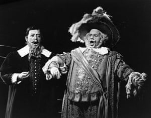 """Dietrich Fischer-Dieskau: 1967: Dietrich Fischer Dieskau in """"Falstaff"""" at Royal Opera House"""