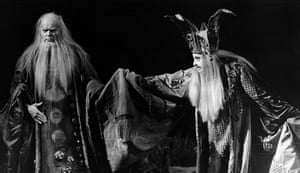 "Dietrich Fischer-Dieskau: 1978: Dietrich Fischer-Dieskau in ""King Lear"" at the National Theatre"
