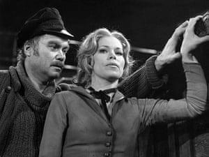 """Dietrich Fischer-Dieskau: 1974: Fischer-Dieskau with Julia Varady, in """"The Cloak"""""""