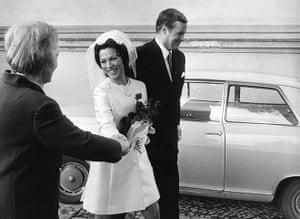 Dietrich Fischer-Dieskau: 7 October 1968: Fischer-Dieskau's wedding with Christina Pugel