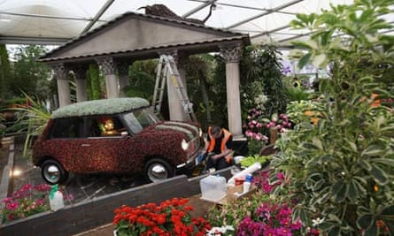 The Birmingham city council garden at Chelsea flower show