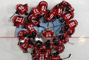 sport: Switzerland's team