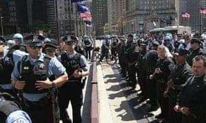Chicago police Nato summit protest