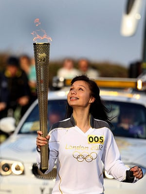 Olympic Torch Journey: Olympic torch