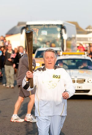 Olympic Torch Journey: Day 1 - Olympic Torch Relay