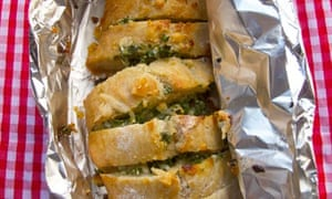 Felicity's perfect garlic bread