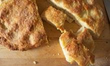 Georgio Locatelli's recipe confit garlic foccacia