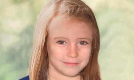 Madeleine McCann age-progression photograph