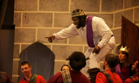RTA program production of Macbeth in Green Haven Correctional Facility