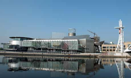 The Lowry Centre, one of the attractions pulling in tourists to Greater Manchester