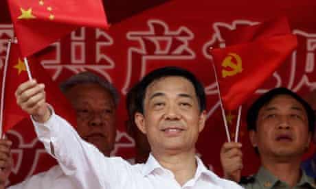 Bo Xilai as Chongqing Communist party secretary