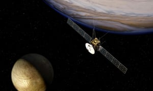 Jupiter moons mission