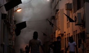 Rioters in Bilad al-Qadeem, Bahrain.
