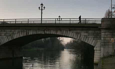 Staines is now Staines-upon-Thames to remind people of its riverside links