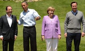 Hollande, Obama, Merkel and Cameron