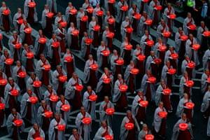 24 hours: Monks parade during the Buddha Era 2556 Lotus Lantern Festival in Seoul