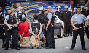 Police arrested several protesters ahead of the Nato summit in Chicago.