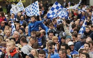 Chelsea parade: Fans