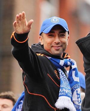 Chelsea parade: Roberto Di Matteo