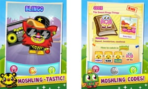 Moshi Monsters Moshlings app