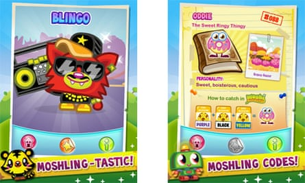 Moshi Monsters Moshlings app