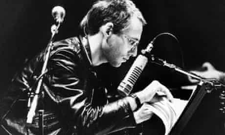 John Zorn performing in 1989
