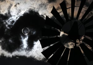 Picture desk live: The 'ring of fire' eclipse seen in Gardnerville, Nevada