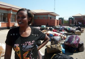 Mark in Zambia: Trading routes and borders
