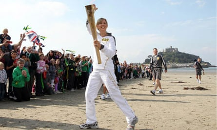 Olympic torch relay begins