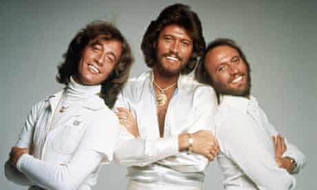 Robin Gibb and brothers