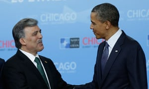 Abdullah Gul and Barack Obama