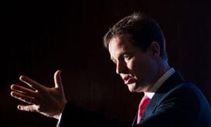 Clegg condemns employment  proposals