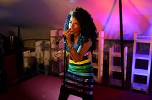 Cannes day 7: Kelis performs at the Abu Dhabi Digital Domain Event