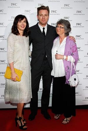 Cannes day 7: Ewan McGregor arrives with his wife Eve Mavraki, and mother Carol McGregor
