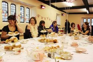 50's celebrations: Secret Tea Party in Bath