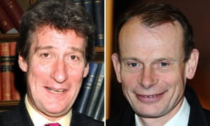 Jeremy Paxman and Andrew Marr