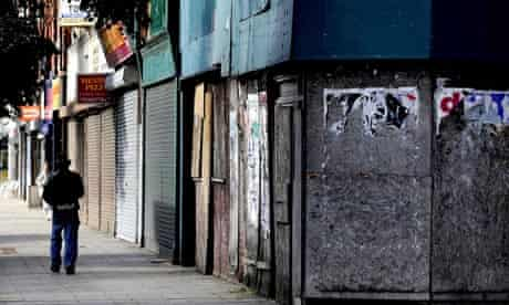 Empty shops and commercial properties
