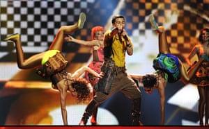 Eurovision semi-final: Moldova's Pasha Parfeny Eurovision